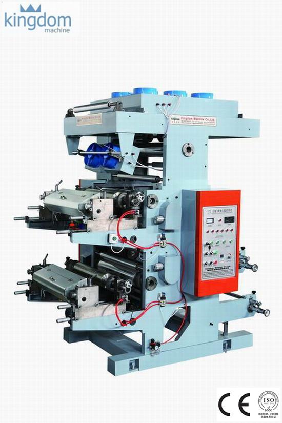 Dua Warna Mesin Flexo Printing
