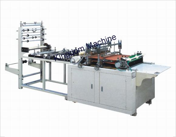 Plastic zip lock bag machine