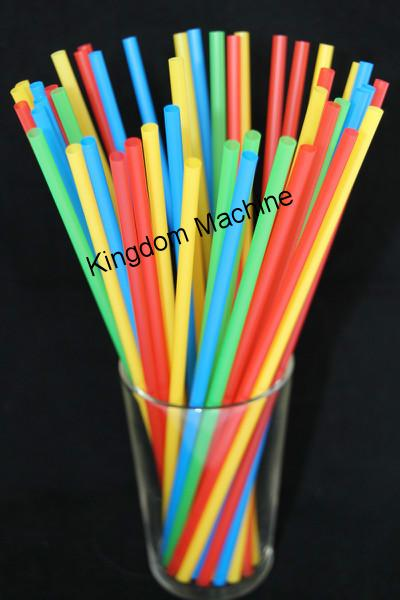 One Color Drinking Straw Machine