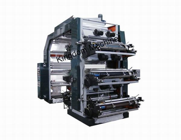 High Speed 6 Colors Flexo Printing Machine